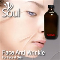 Essential Oil Face Anti Wrinkle - 500ml - Click Image to Close